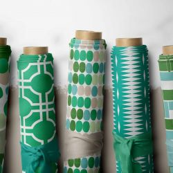 oriental collective concept fabric rolls