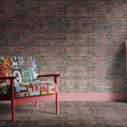 brick walls concept algea brick wallpaper carpet