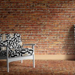 brick walls concept burnt brick wallpaper carpet