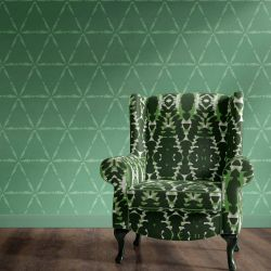 curated memory concept wallpaper upholstery
