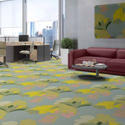 florale concept carpet artwork