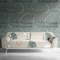 face to face concept upholstery wallpaper