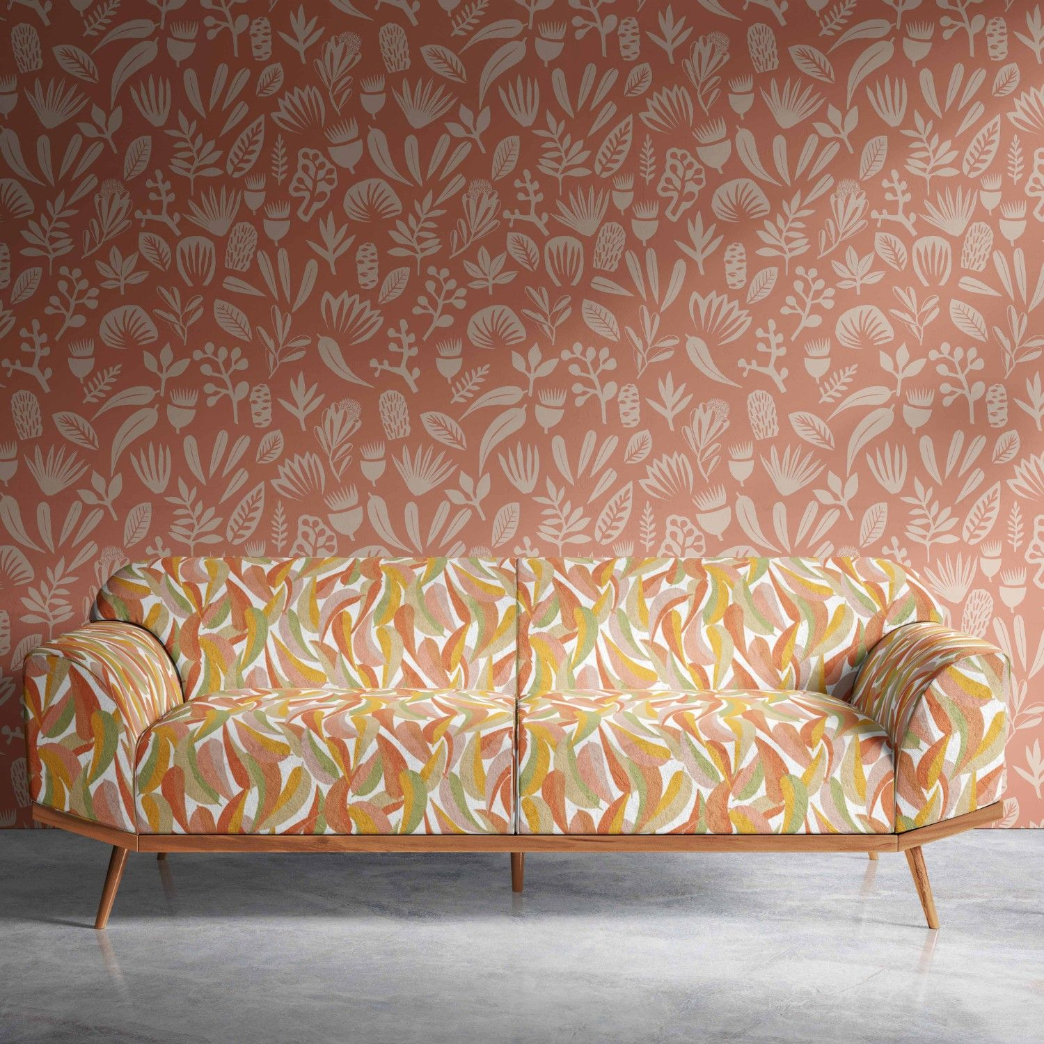 coastal concept wallpaper upholstery