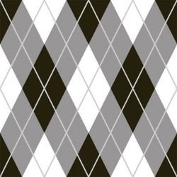 back to basics argyle black and white