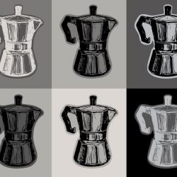 pop art classic coffee pot marisol