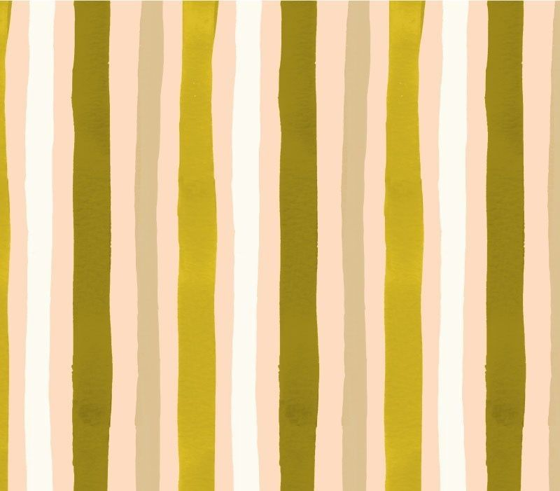 bushdance stripe tonal olive cream