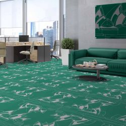 city lines concept carpet artwork