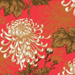japanese inspired chrysanthemum original capsicum detail