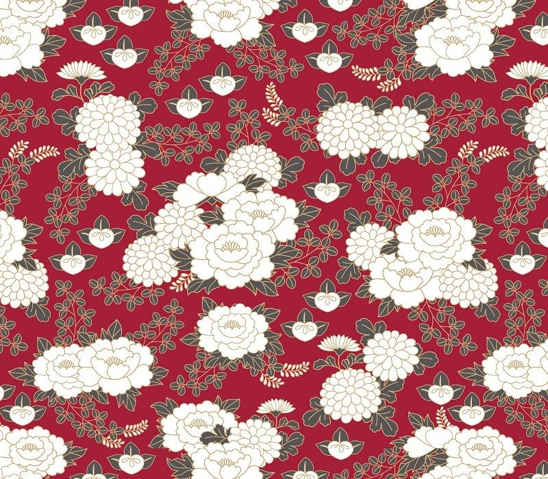 japanese inspired garden in bloom tar firebrick lead spice white