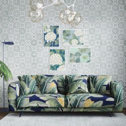 the secret garden concept wallpaper upholstery artwork