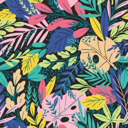 fabulous florals jungle explosion night