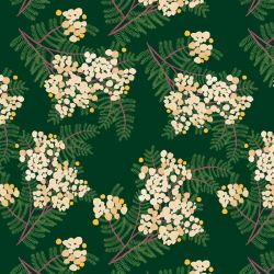australian botanical wattle cream bottlegreen