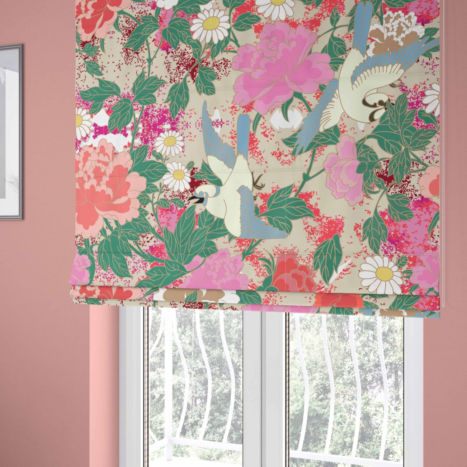 japanese inspired concept curtain