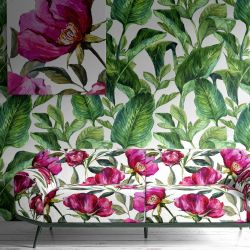 mixed bunch concept wallpaper artwork upholstery