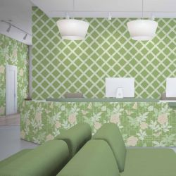 hamptons weekend concept reception wallpaper laminate