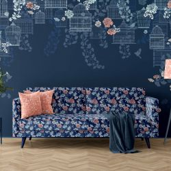 hamptons weekend concept wallpaper upholstery