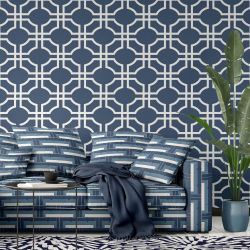 oriental collective concept wallpaper couch rug