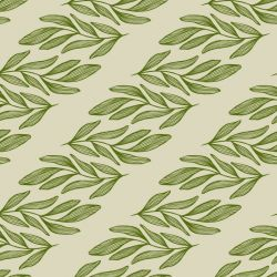 botanical waves willow branch horizontal pistachhio olive