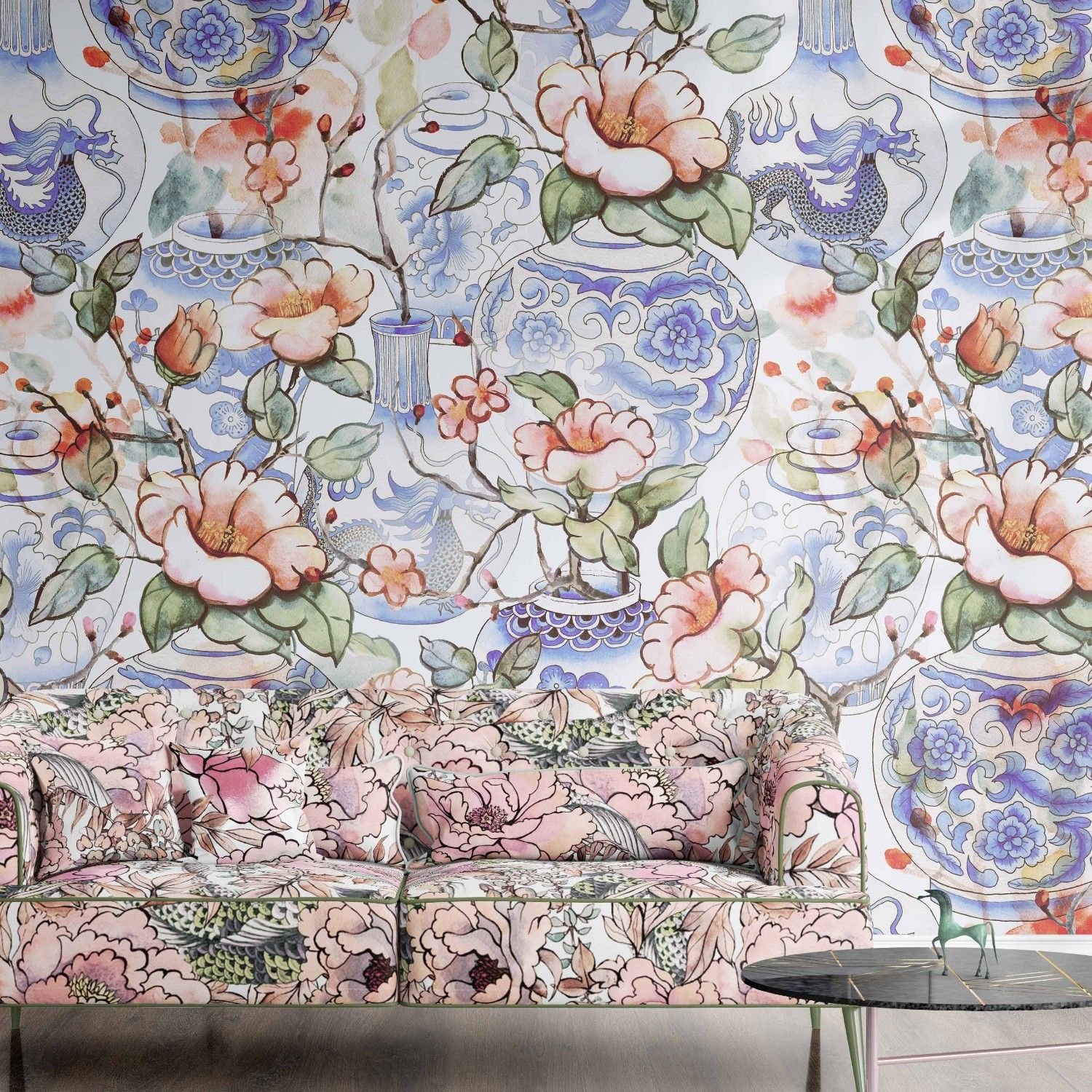 treasures of tokyo concept wallpaper upholstery