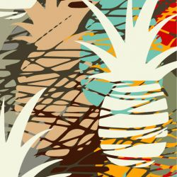 fruit veg pineapple collage