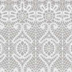 lace spiral  white smoke