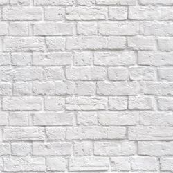 brick walls white brick