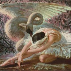 tretchikoff dying swan