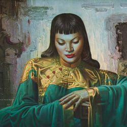 tretchikoff lady from orient