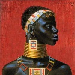 tretchikoff ndebele woman