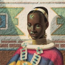 tretchikoff woman of ndebele