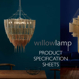 EZ Willowlamp Specification Sheets Cover